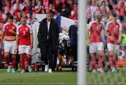 EURO 2020 antroji diena: istorinė Suomijos pergalė, ramūs belgai ir tragedija aikštelėje