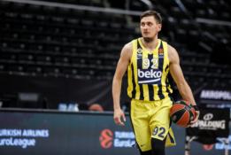 """E. Ulanovas palieka """"Fenerbahce"""", juo domisi """"AX Milan"""" ir """"Maccabi"""" ekipos"""