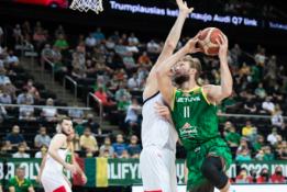 Lietuvos rinktinė antrose savo kontrolinėse rungtynėse užtikrintai laimėjo prieš Rusiją