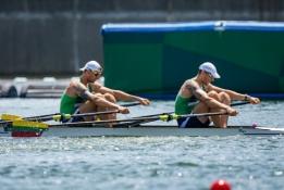 Antras šansas išnaudotas sėkmingai - S. Ritteris ir A. Adomavičius po paguodos plaukimo pasiekė pusfinalį