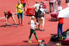 Ietės metikė L. Jasiūnaitė pateko į finalą ir kovos dėl medalių