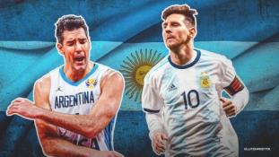 Karjerą Argentinos rinktinėje baigusiam L. Scolai – žinutė nuo Lionelio Messi