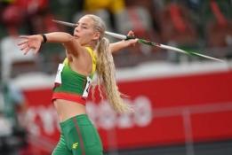 Liveta Jasiūnaitė olimpinių žaidynių ieties metimo finale užėmė 7-ąją vietą