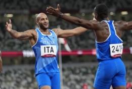 Staigmena: 4x100 m vyrų estafetėje triumfavo Italija (VIDEO)
