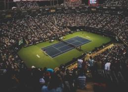 """Netikėtumas """"Indian Wells"""" turnyre - D. Medvedevas krito prieš G. Dimitrovą"""