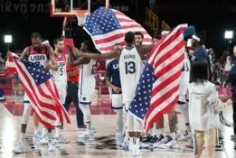 Paskutinę Tokijo olimpinių žaidynių dieną medalių lentelėje JAV aplenkė Kiniją