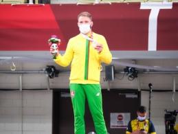 O. Bareikis iškovojo paralimpinį bronzos medalį
