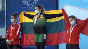 Lijana Jakaitė – Europos jaunimo sunkiosios atletikos čempionė!