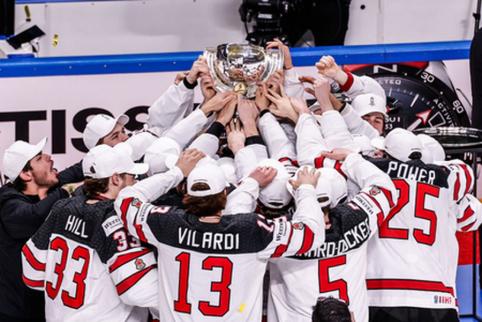 Kanados rinktinė per pratęsimą laimėjo pasaulio čempionato auksą