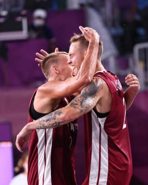 3x3 krepšinio olimpiniai čempionai – Latvijos ketvertukas
