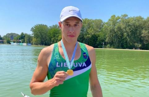 P. Juškevičius tapo pasaulio jaunimo irklavimo čempionu