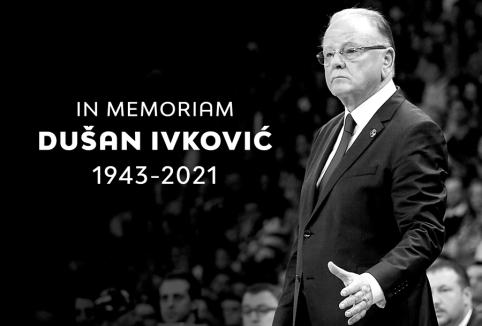 Anapilin iškeliavo legendinis Europos krepšinio strategas D. Ivkovičius