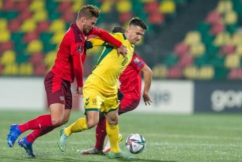 Šveicarai nepaliko vilčių Lietuvos rinktinei